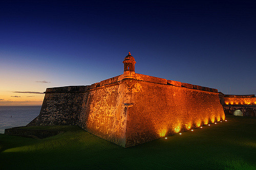 Touring haunted places like El Morro is one of the unique things to do in Puerto Rico