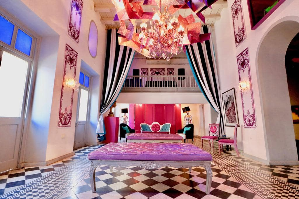 Colorful Monastery Art Suites is a fun boutique hotel in Puerto Rico