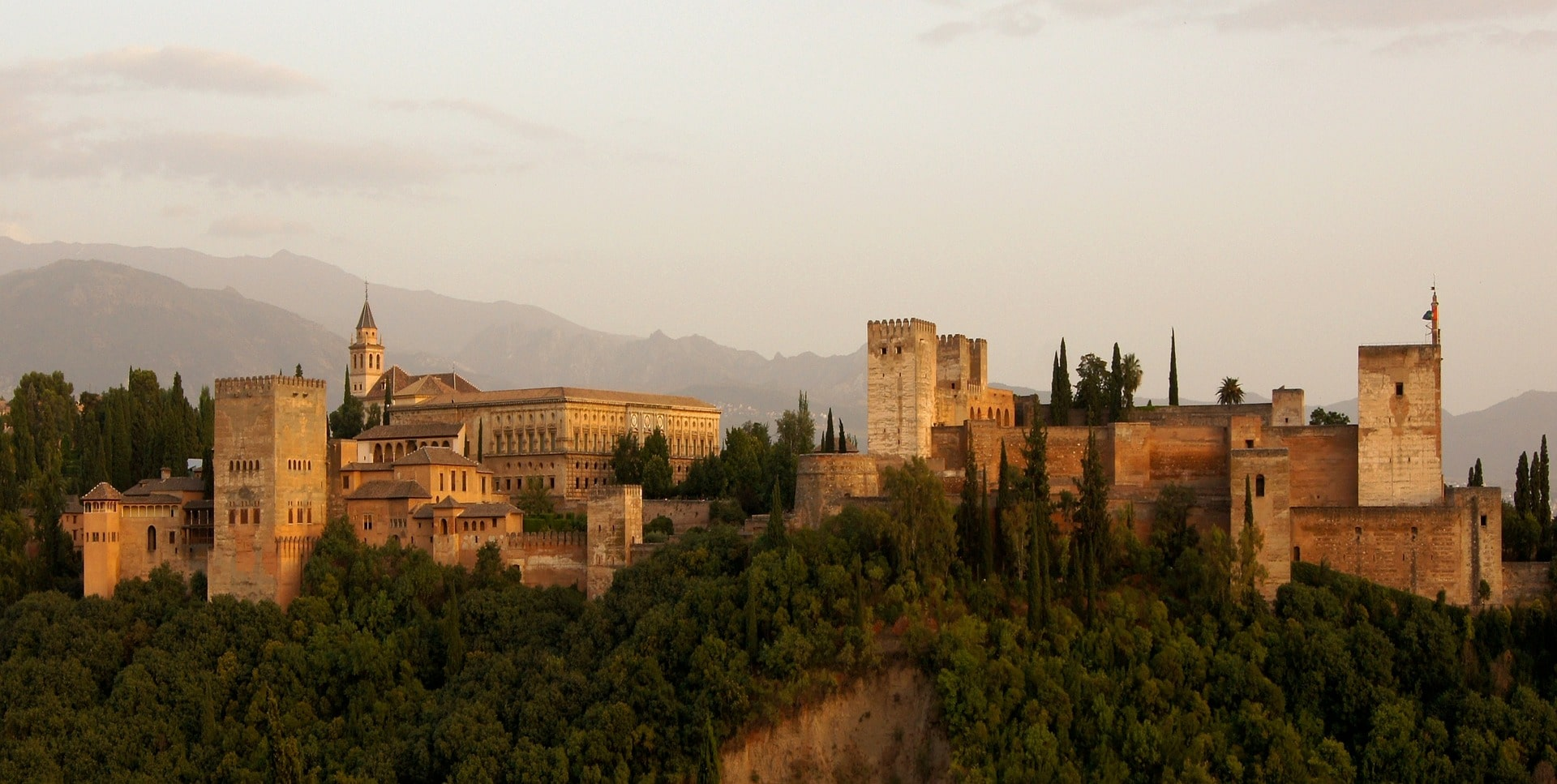 Alhambra in Grenada is one of the most breathtaking places to visit in Spain
