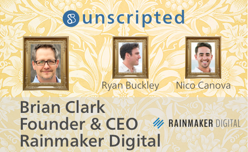 Unscripted Podcast with Brian Clark of CopyBlogger