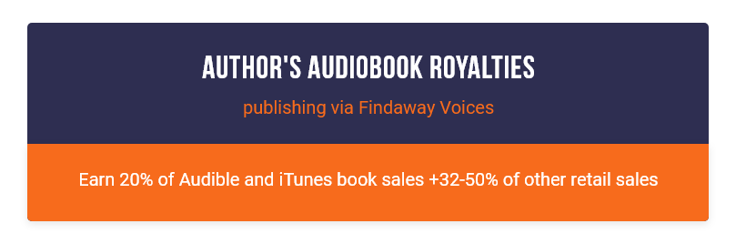 Author's Audiobook Royalties Publishi...