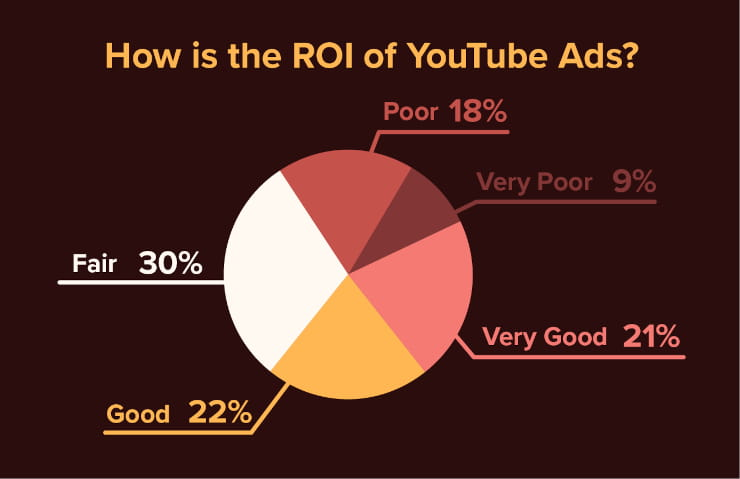 How is the ROI of YouTube ads?