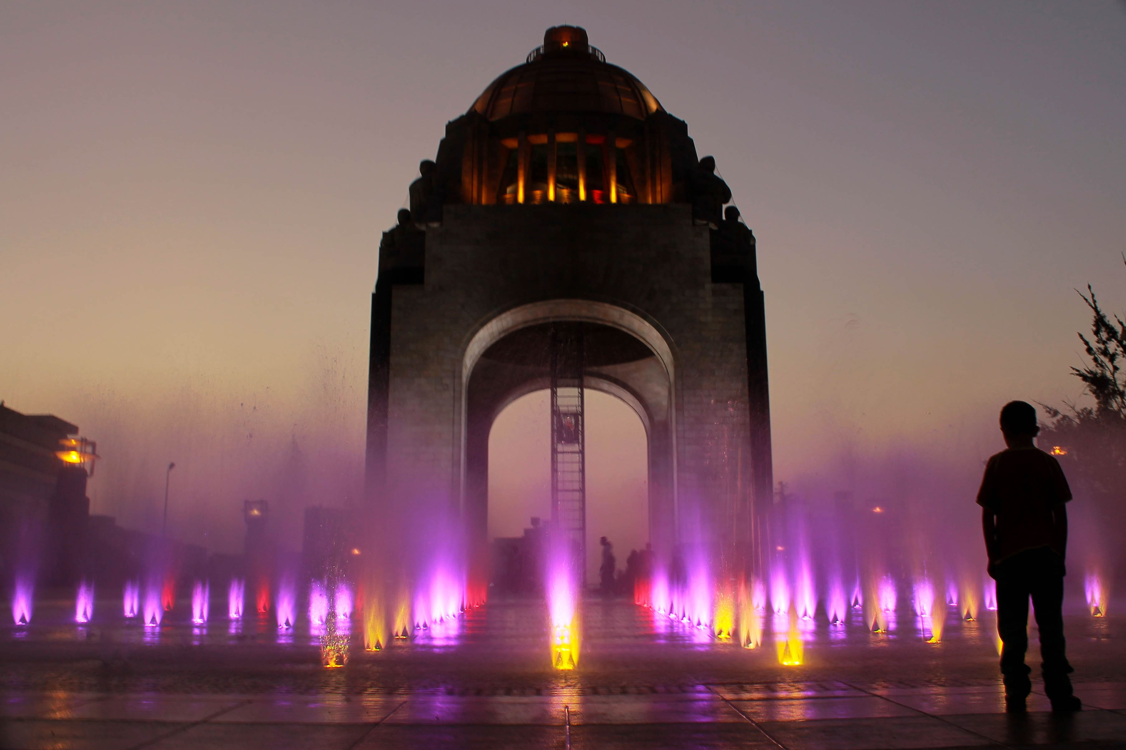 One of the coolest things in Mexico City is to climb the Monumento de la Revolucion