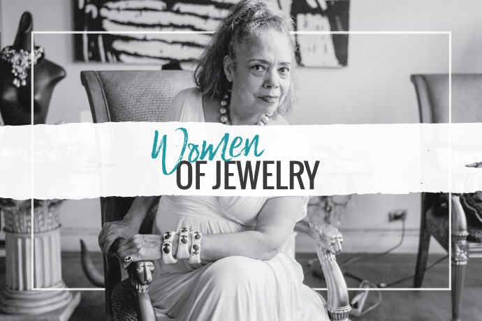 Linda, a jewelry designer and studio owner, was inspired to write a book as a tribute to all the women in the industry, and to pass on inspiration and information to the next generation.