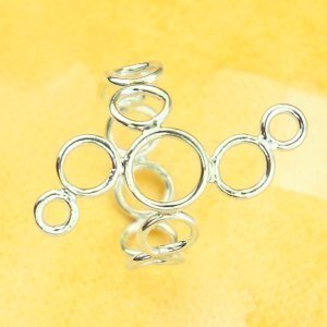 Circular Patterned Ring by Erica Stice