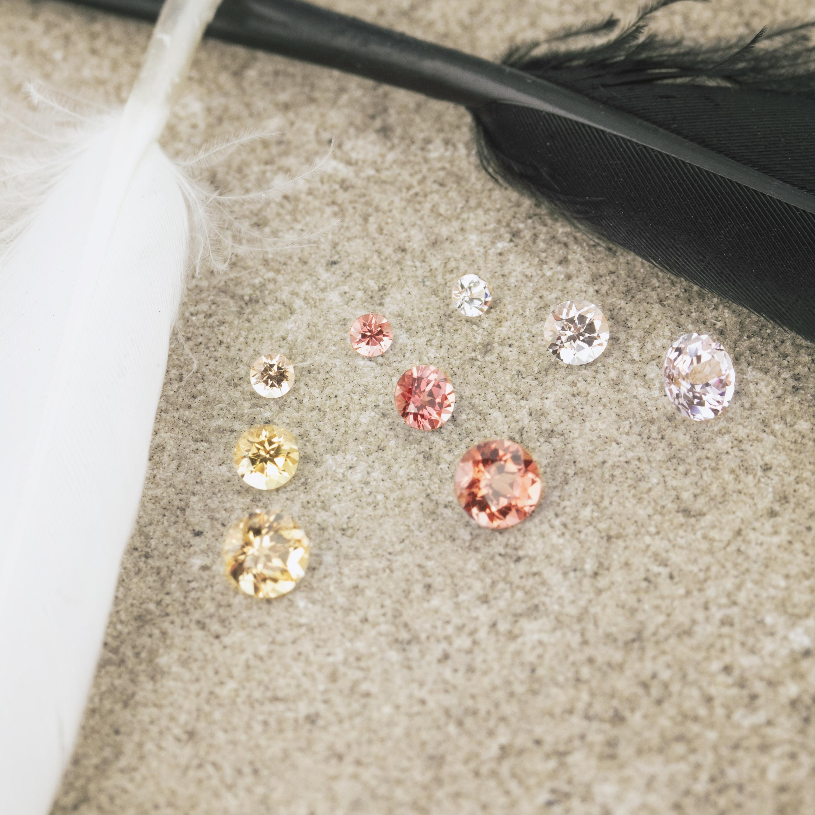 Laboratory grown diamonds and colored stones