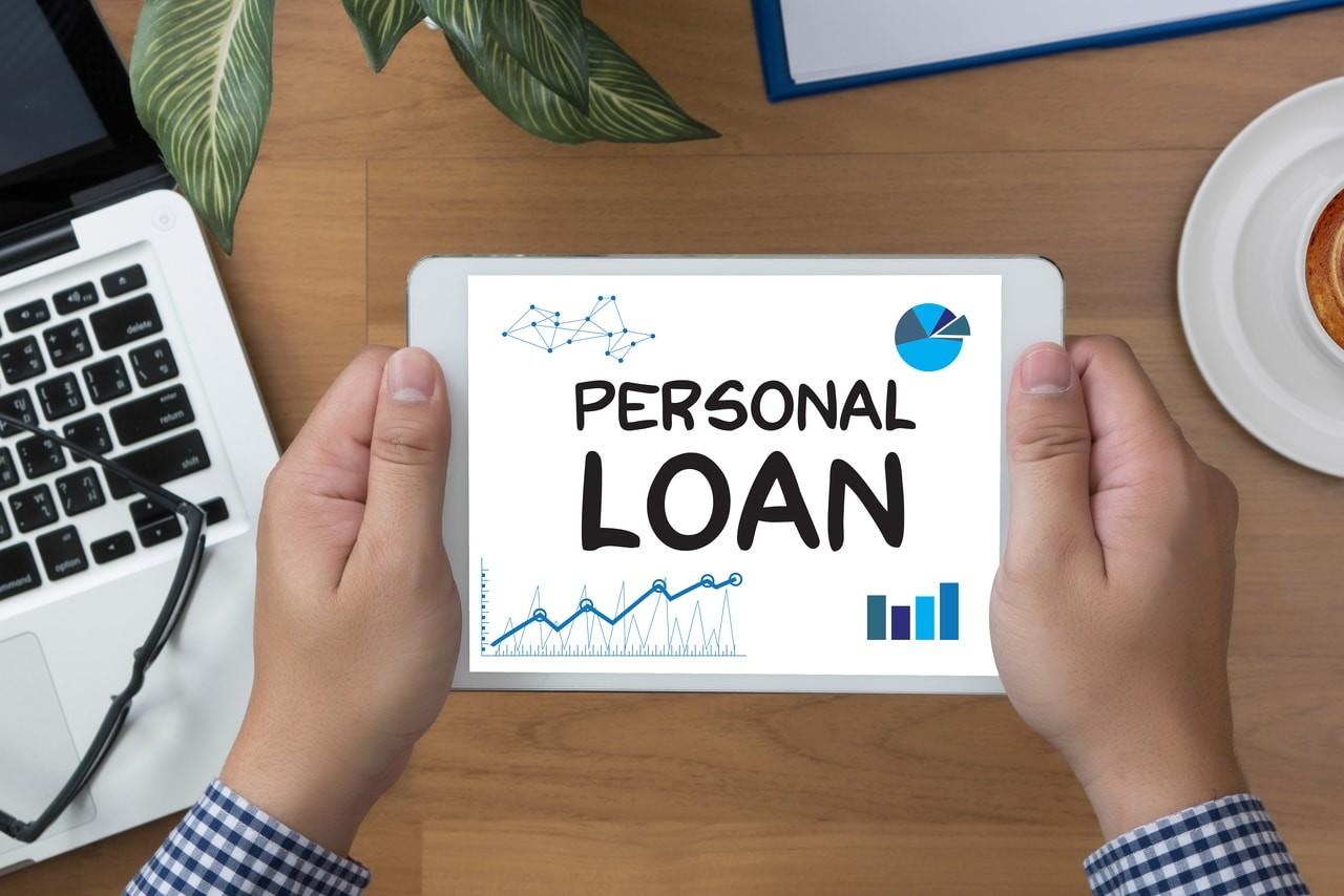 personal loan image on ipad