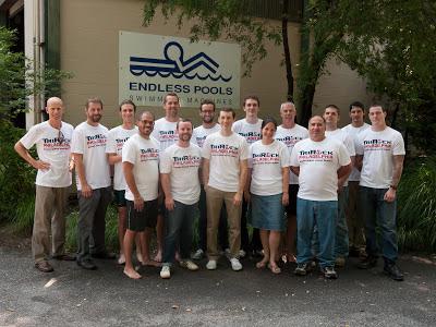 members of Team Endless Pools