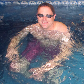 For the Pain of Spinal Stenosis, Mike Takes a Swim