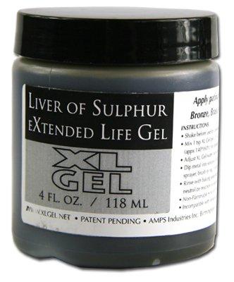 Liver of Sulfur bottle