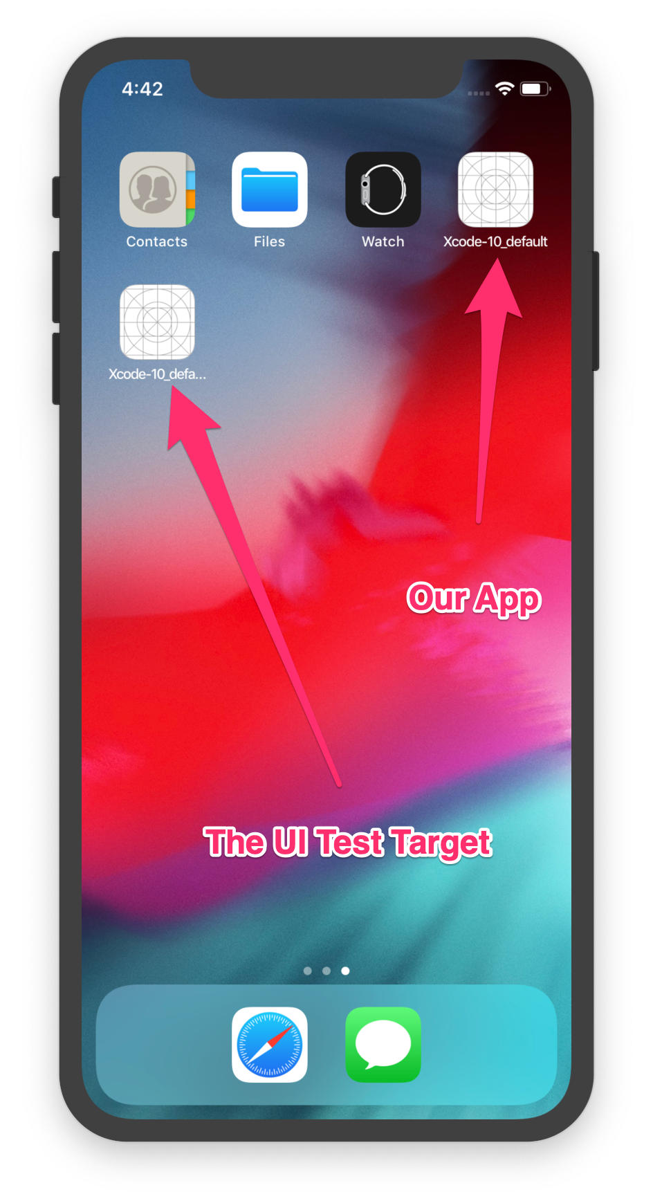 Automate iOS codesigning for real device UI testing with