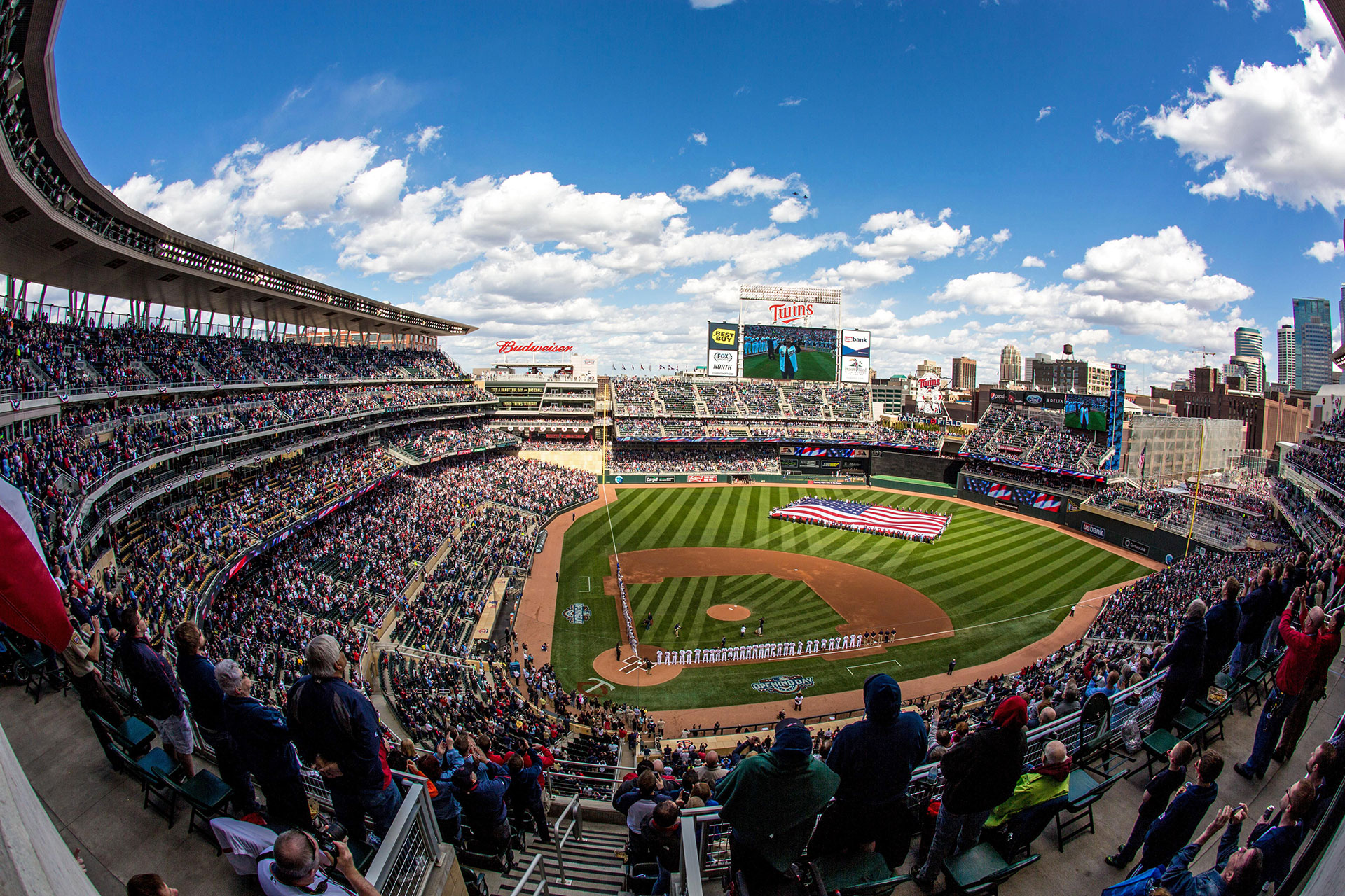 Target Field in Minneapolis