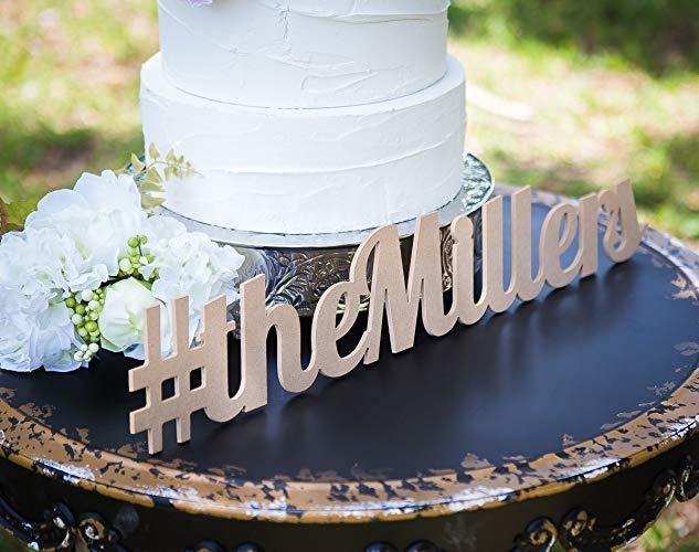 scavenger hunts using wedding hashtags