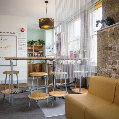 Huckletree Clerkenwell Kitchen