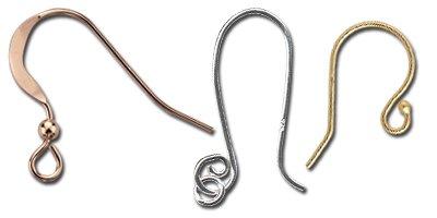 Jewelry making earwires
