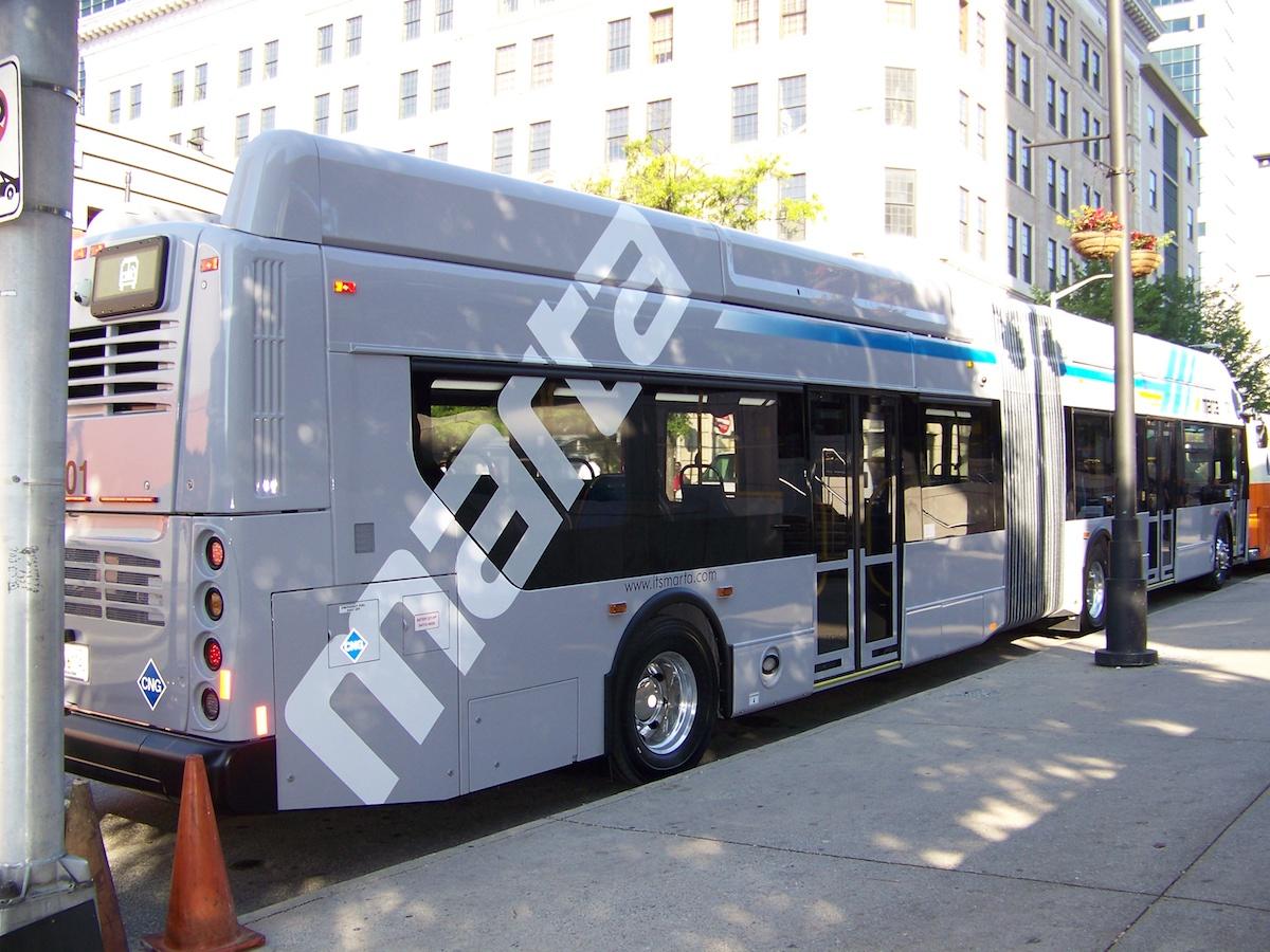 MARTA bus in Atlanta