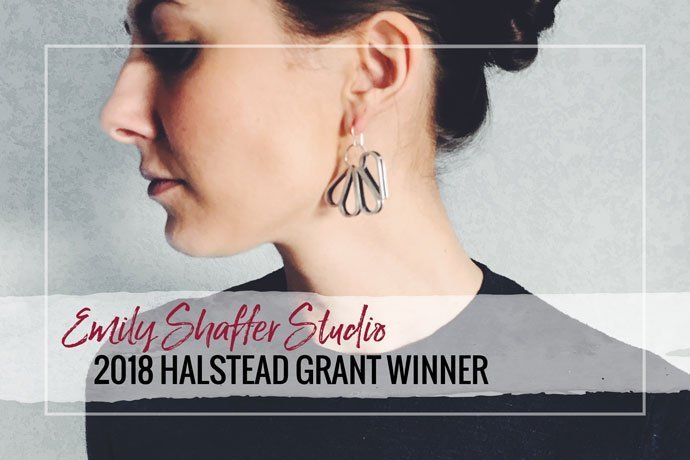 Meet the 2018 Halstead Grant winner Emily Shaffer. Her handmade jewelry and well thought out business plans earned her the top prize.