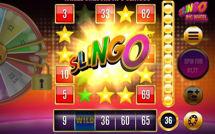 Win Slingo Big Wheel