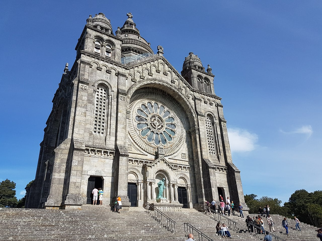 Basilica de Santa Luzia is one of the best places to visit in Portugal