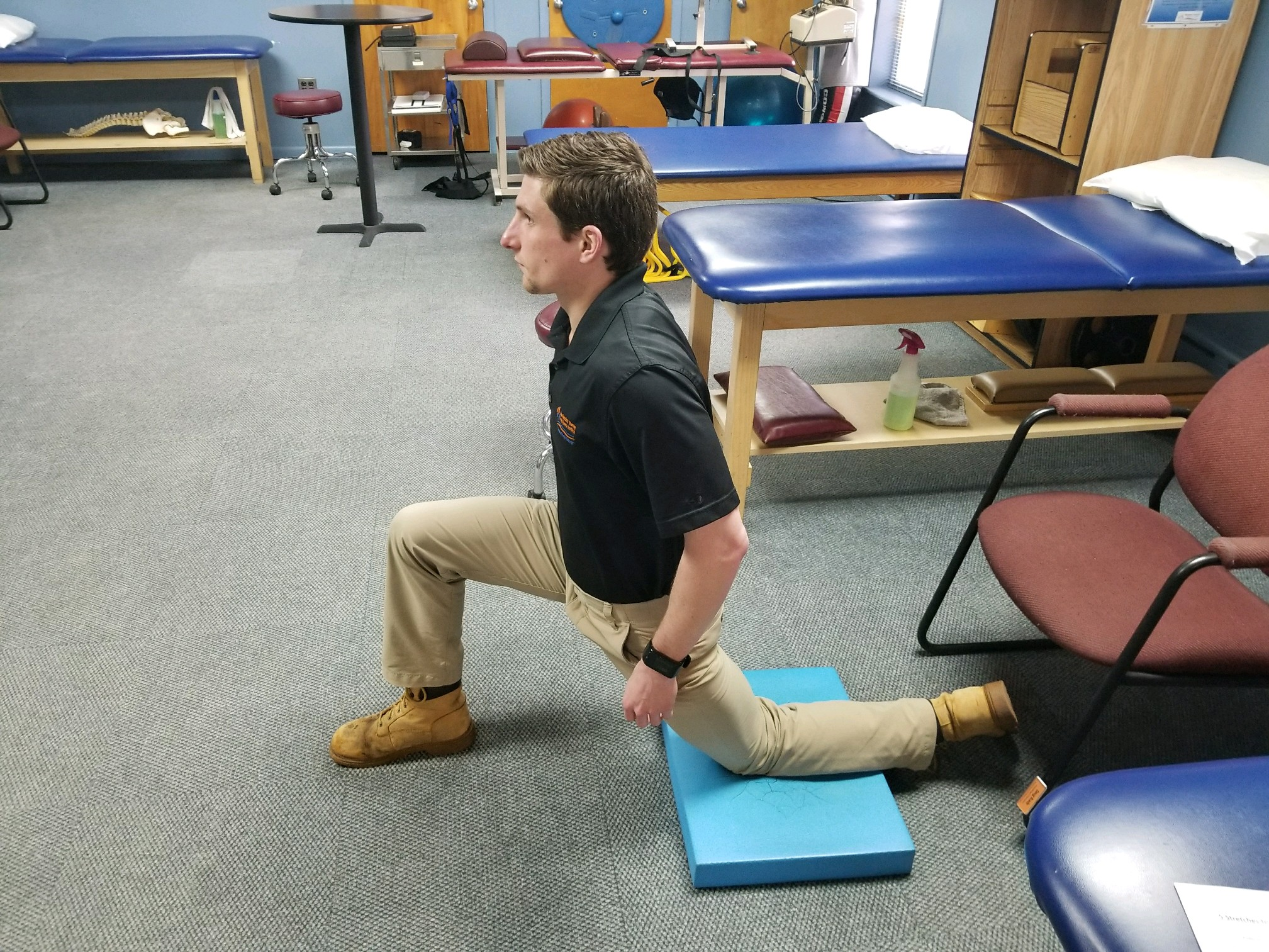 Quad and Hip Flexor Stretch