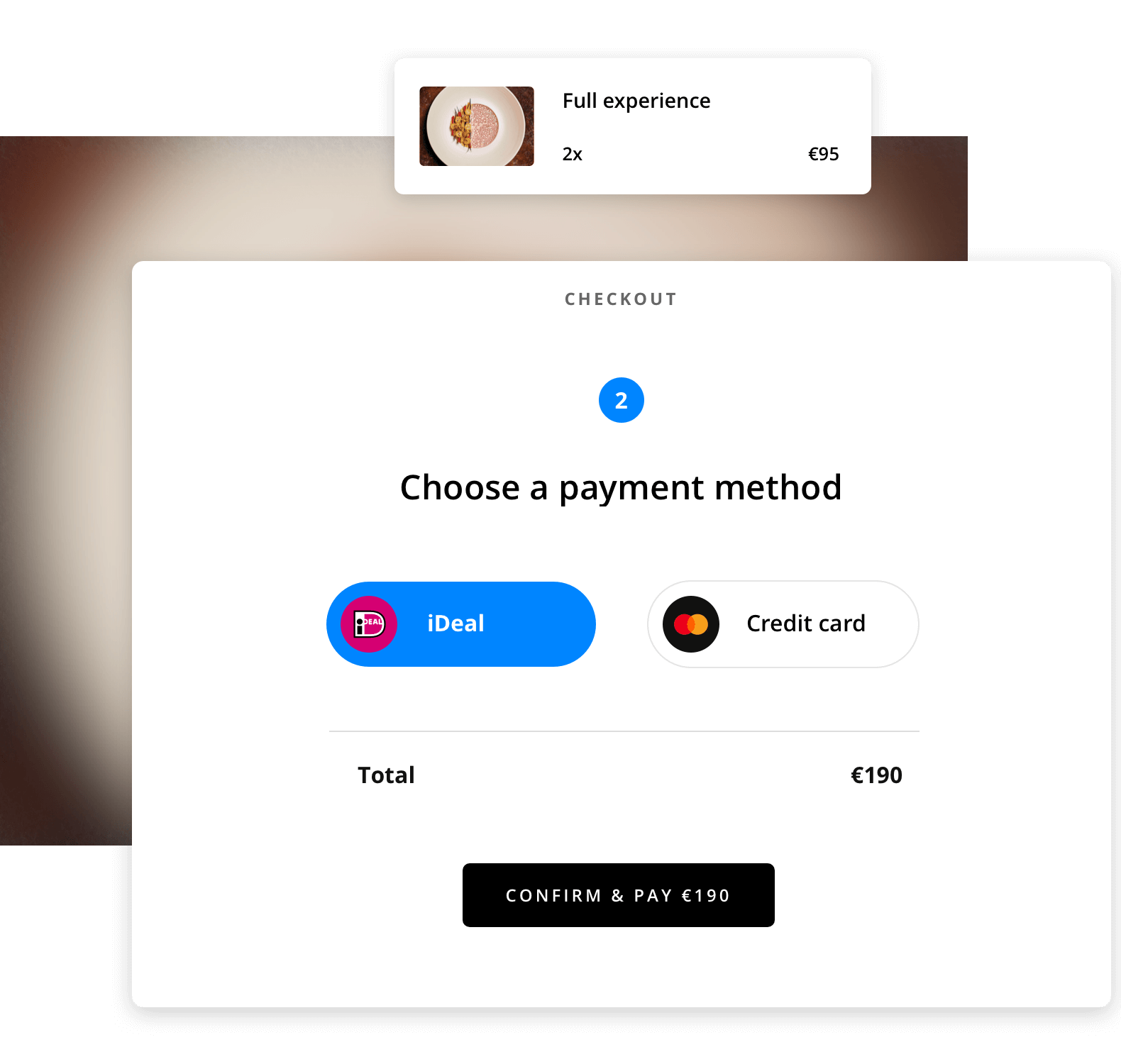Prepayments prevent no-shows