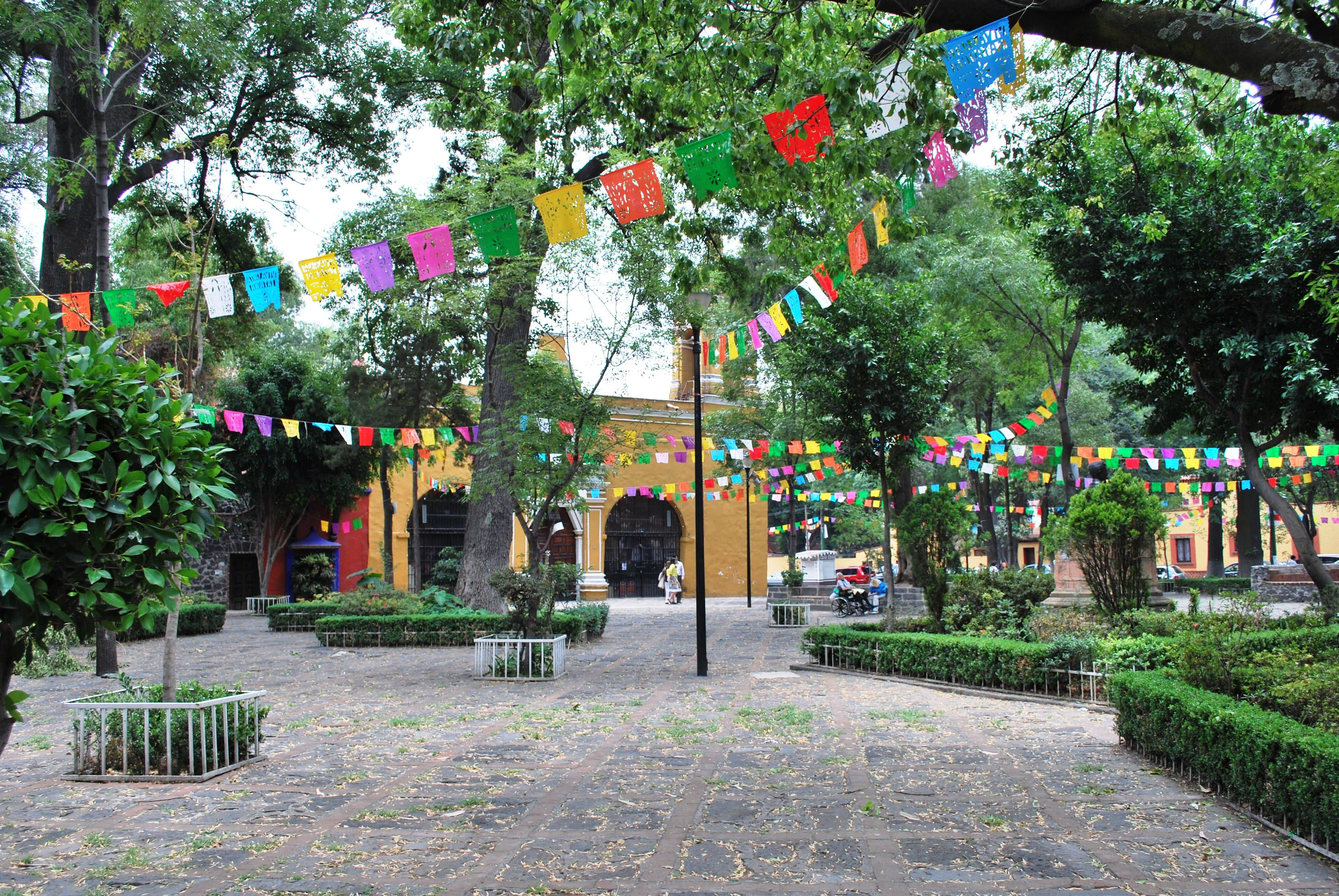 Coyoacan is one of the best neighborhoods to stay in Mexico City