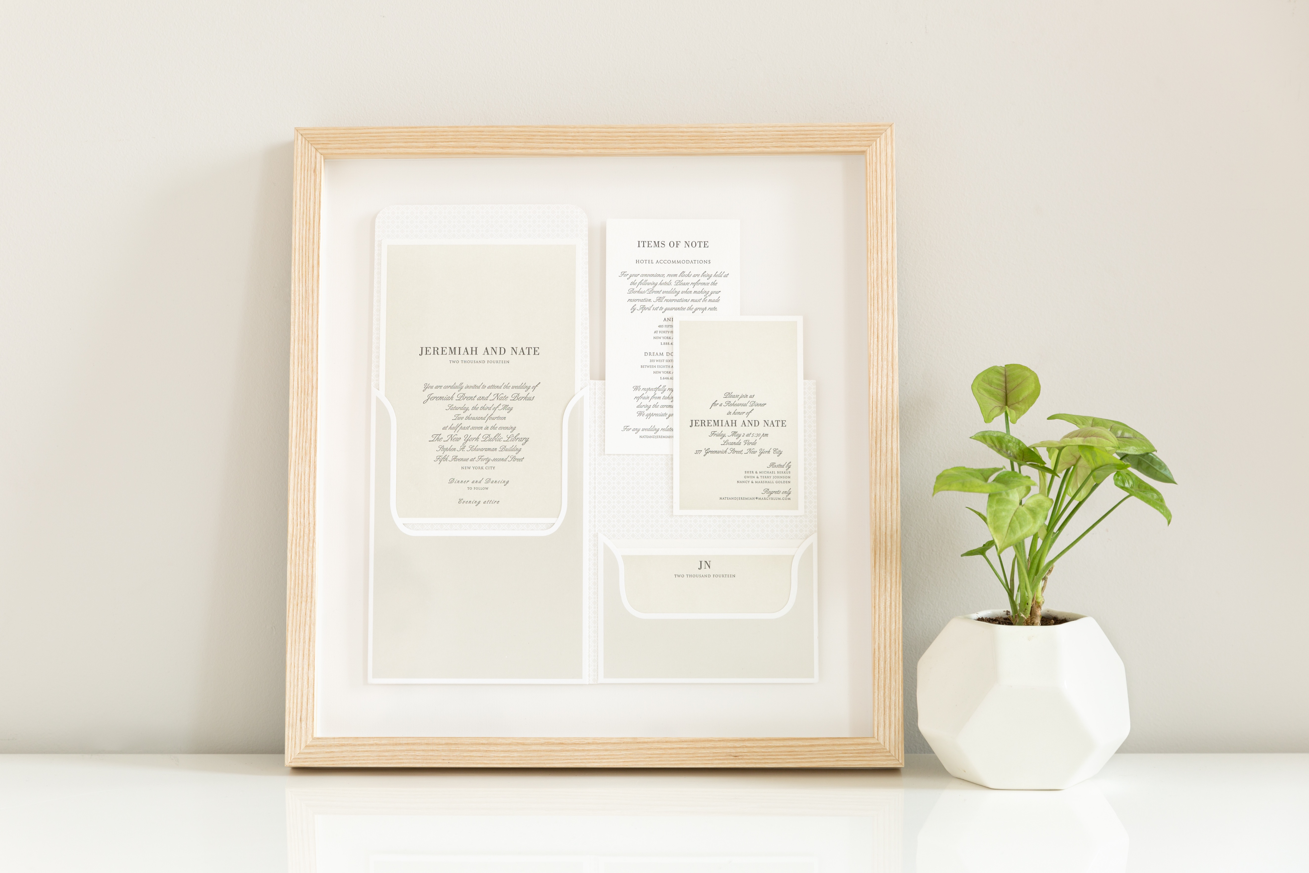Once You Ve Decided How D Like To Mat And Mount Your Invitation Re Ready Pick A Frame Our Newport Richmond Frames Are Great For Clic