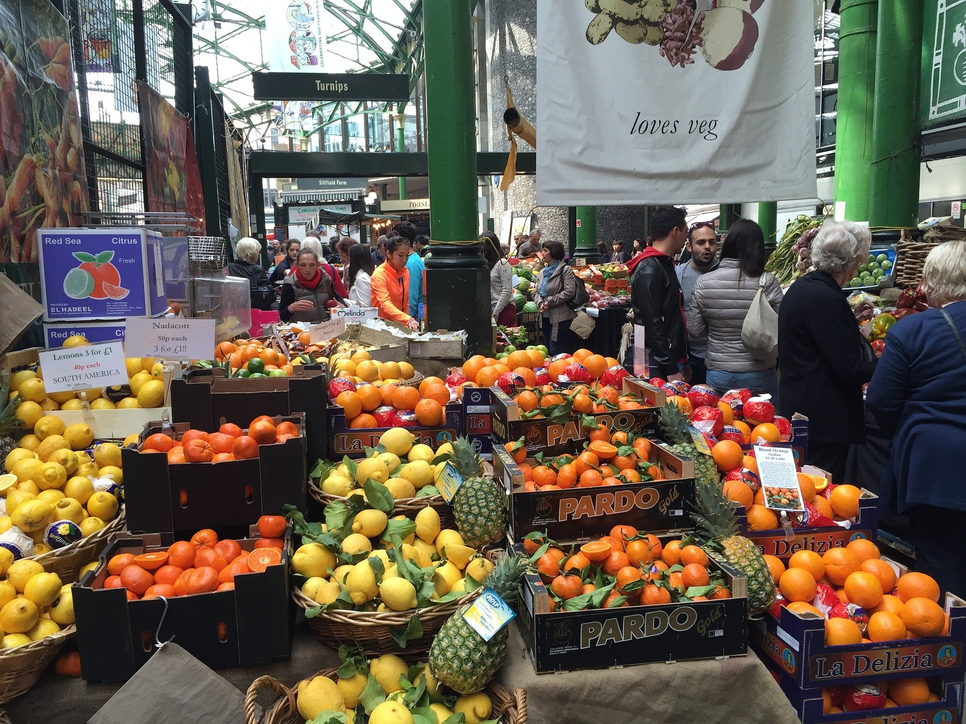 Checking out of the city's awesome markets is a great thing to do in London