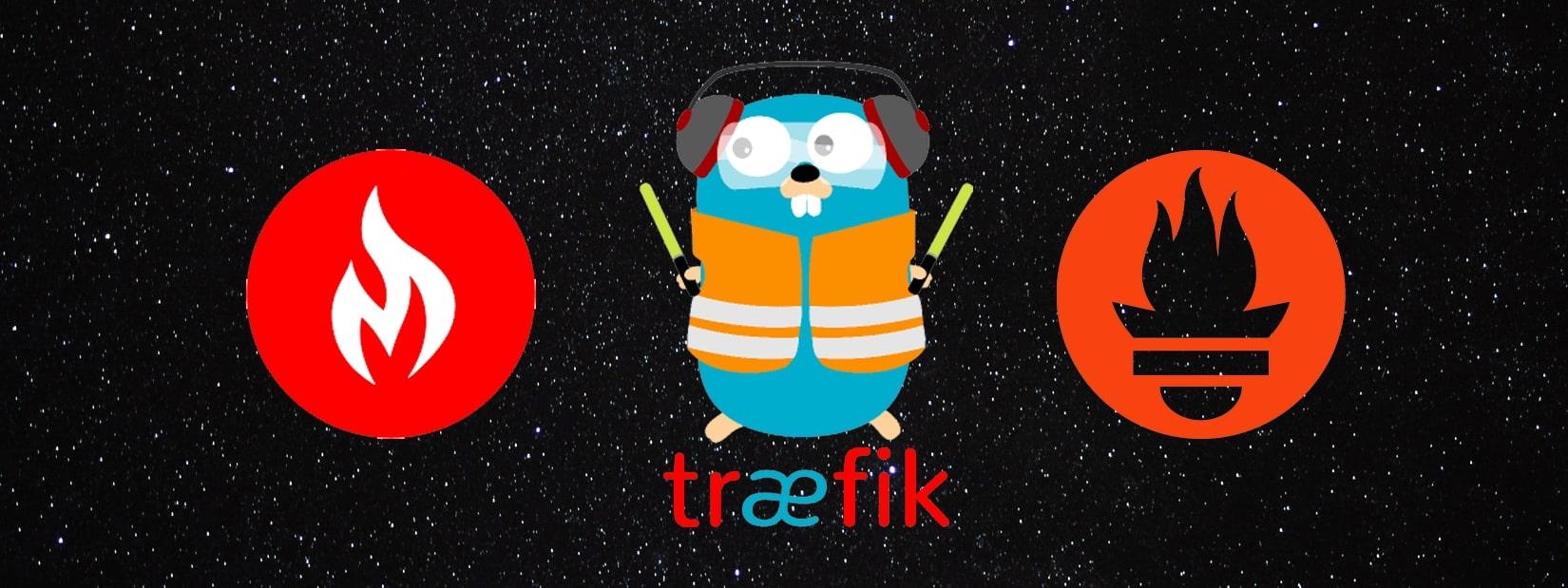 Traefik and Prometheus for Sites Monitoring