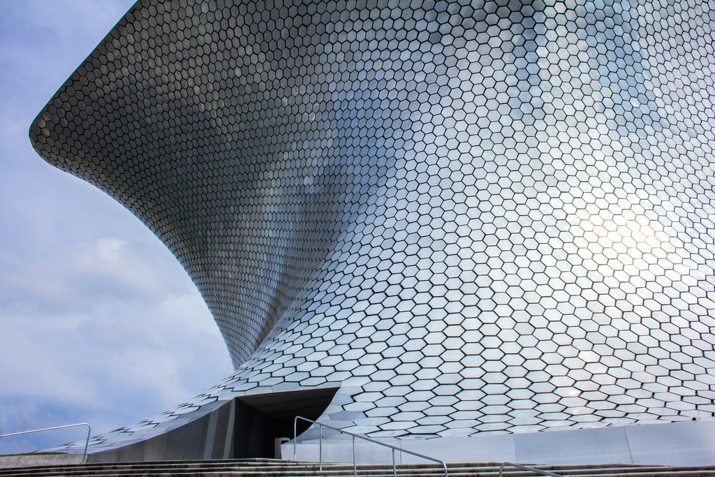 Museo Soumaya is one of the best Mexico City landmarks
