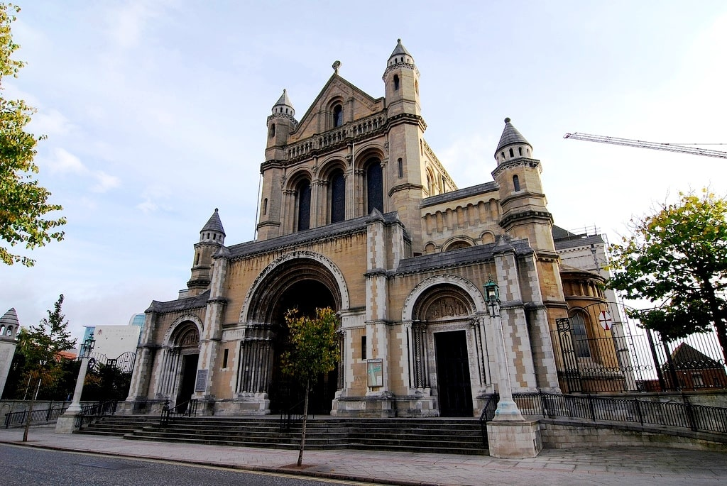 Looking around St. Anne's Cathedral is a cool thing to do in Belfast Ireland