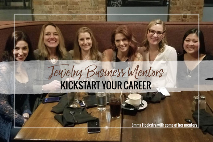 Having a jewelry business mentor helps you learn the industry first hand before starting your business. Becoming a mentor down the road also helps your jewelry business in many ways!
