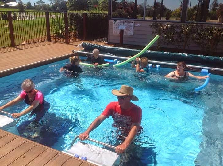 Dual Propulsion Fastlane (aka Endless) Pool in Queensland's Maleny Village.