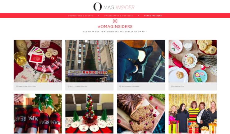 Juicer social media aggregator wall