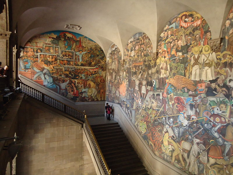 Diego Rivera Murals is a Mexico City must see