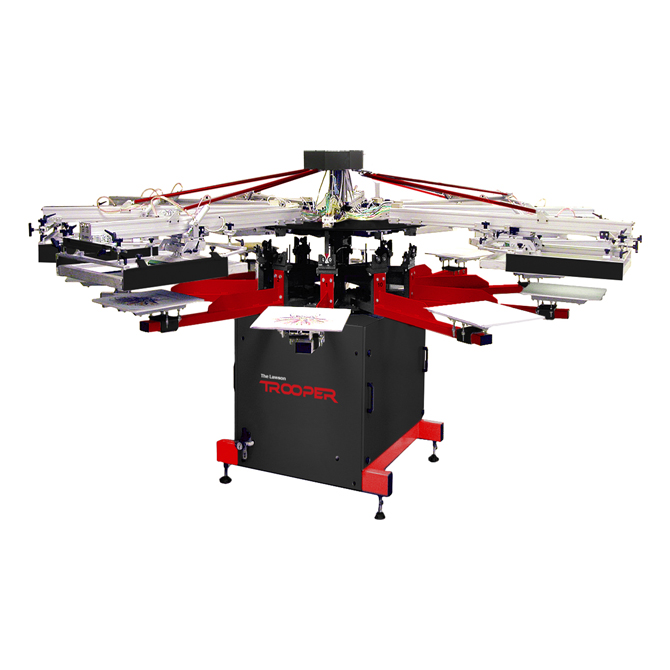 Lawson Trooper Basic automatic screen printing machine