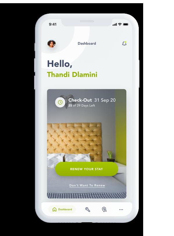 Homii mobile app