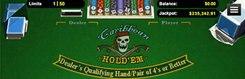 Intertops Casino Caribbean Holdem
