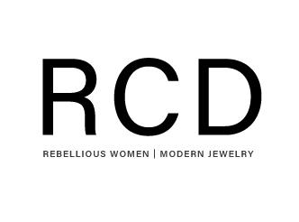 Rebel Cat Designs lettermark logo version one