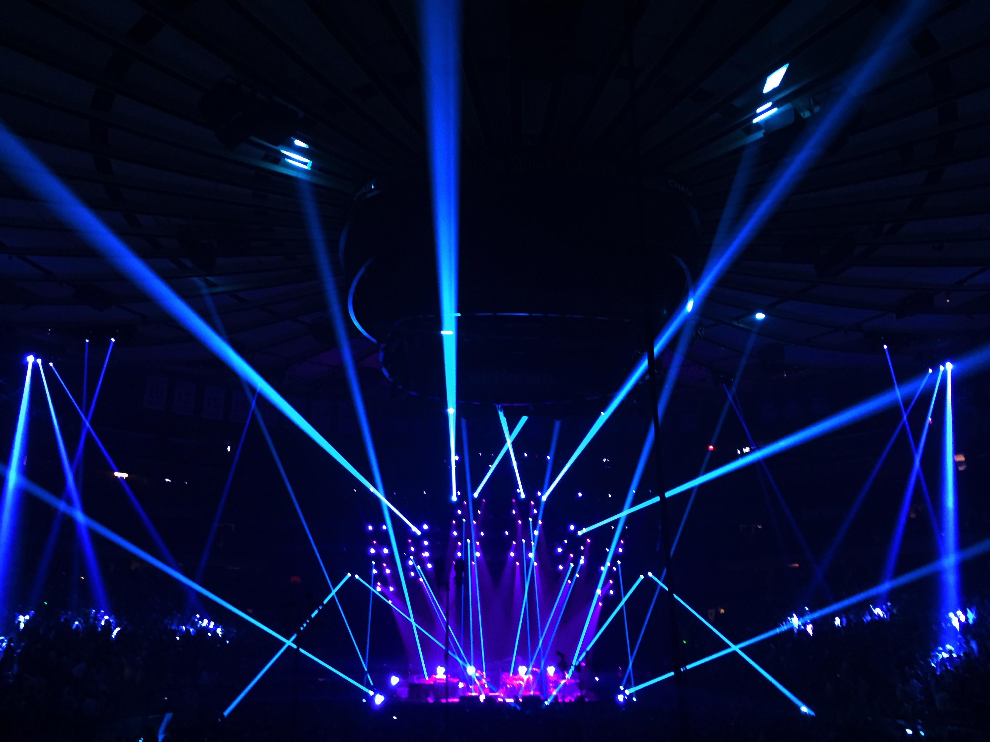 Framed Concert Ticket, Phish Bakers Dozen New York Madison Square Garden