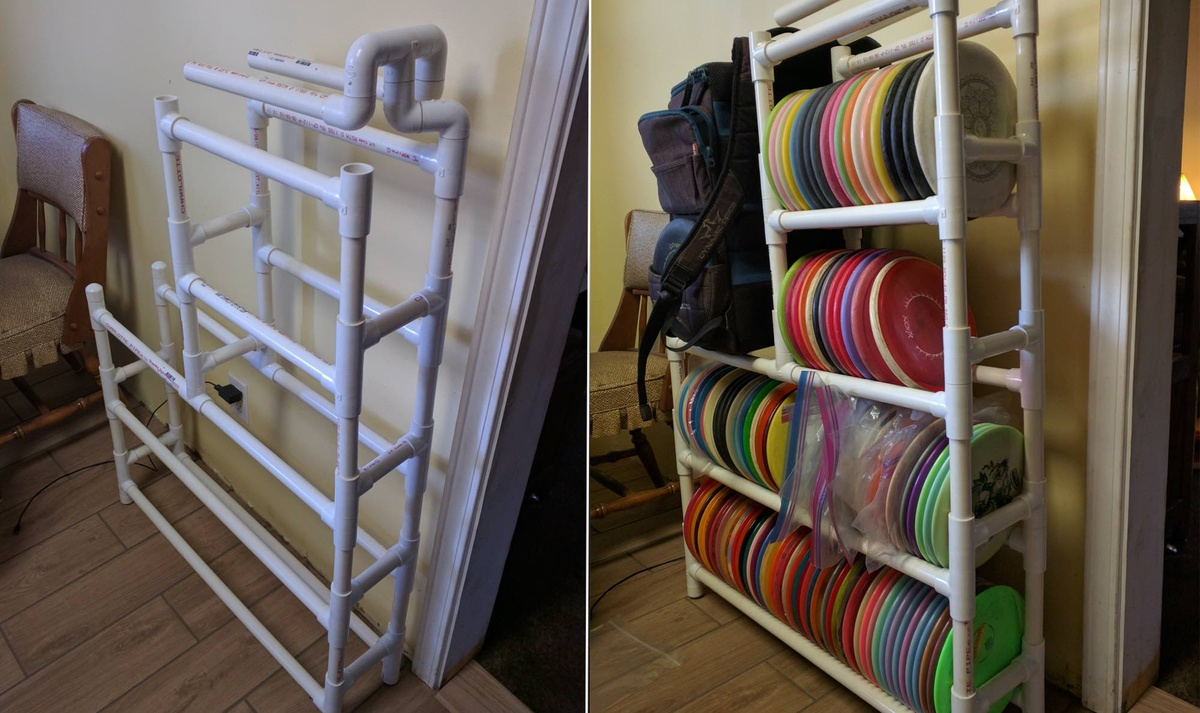 Rack Em Up Great Disc Golf Disc Storage Options