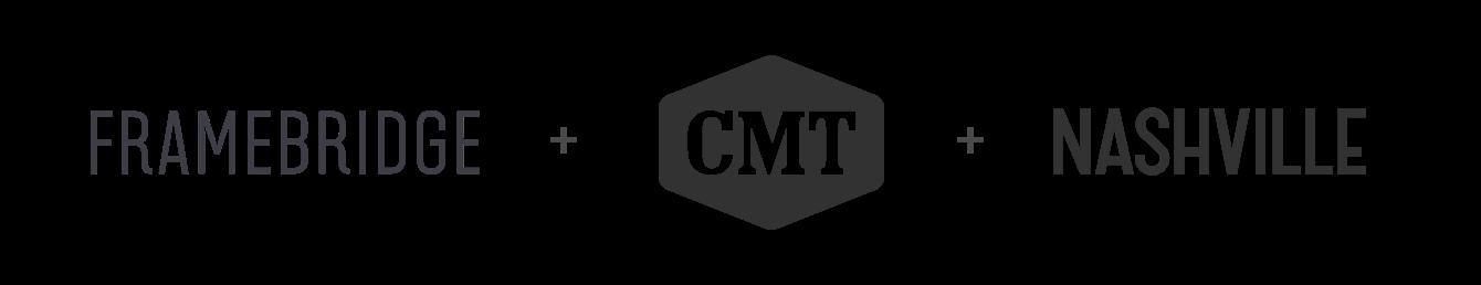 Framebridge + Nashville + CMT Logo