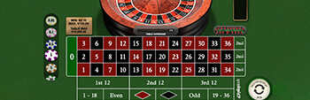 Europa Casino Premium European Roulette