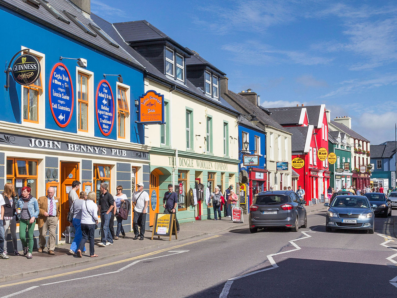 Delightful Dingle is one of the best places to stay in Ireland