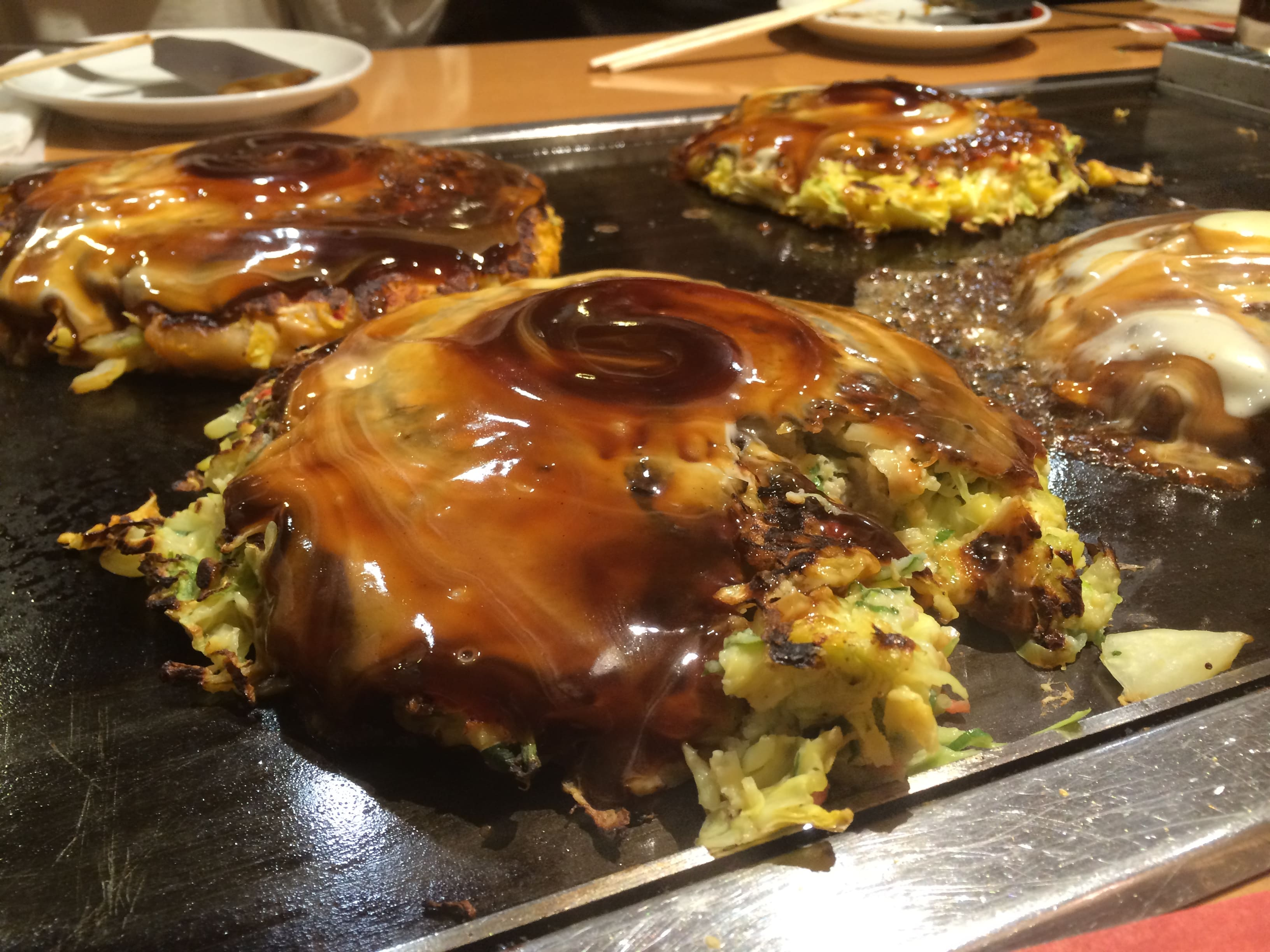 okonomiyaki in Osaka is a Japanese destination for foodies