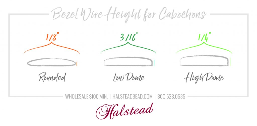 Bezel Wire Height for Cabochons