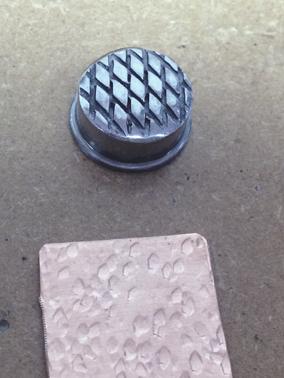 texturing hammer; pattern 1