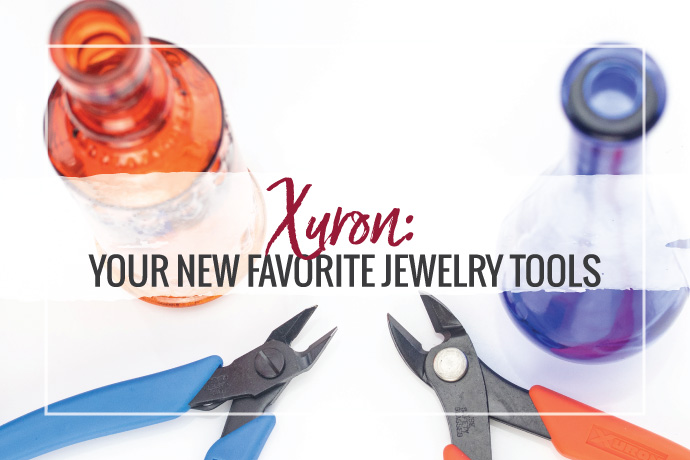 Xuron made in the USA jewelry pliers and cutters will quickly become your favorite jewelry tools. Check out some of Halstead's favorite Xuron Tools.