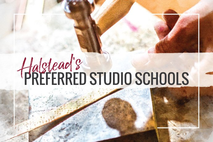 Whether you're a beginner or experienced, these studio schools will help advance your jewelry making skills with a variety of class options.