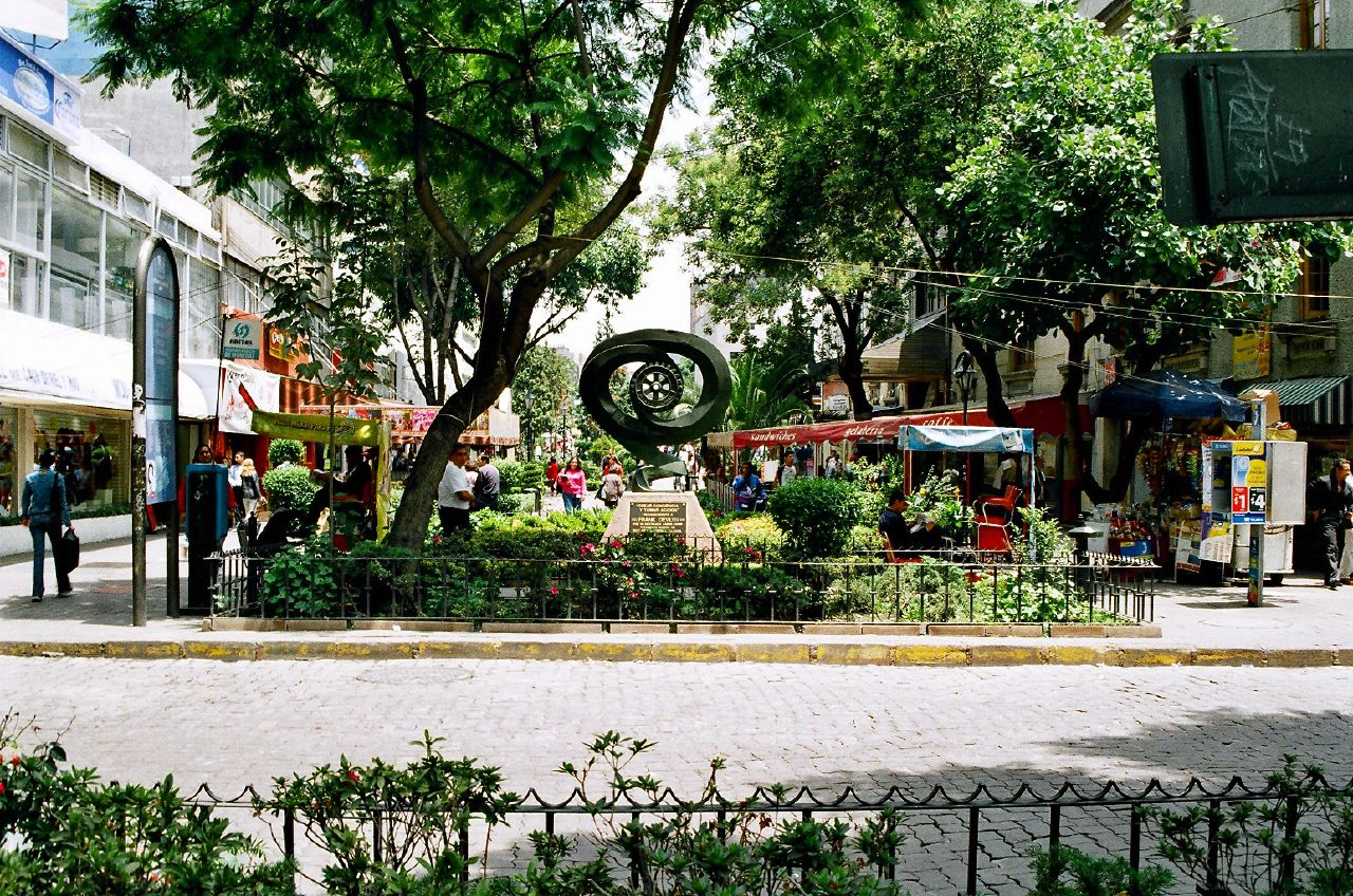 Juarez is one of the best neighborhoods in Mexico City